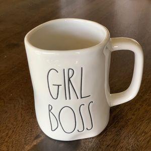 Rae Dunn 'GIRL BOSS' mug